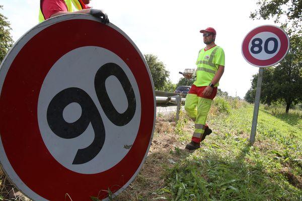 La vitesse maximale repasse à 90 km/h sur certains axes de la Vienne.