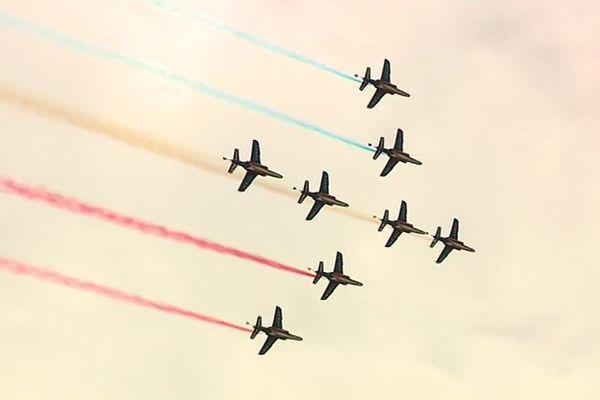 La Patrouille de France présente son nouveau show ce samedi à Airexpo.