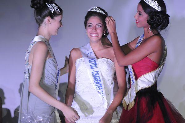 Mathilde Hubert élue Miss Poitou-Charentes en septembre 2014