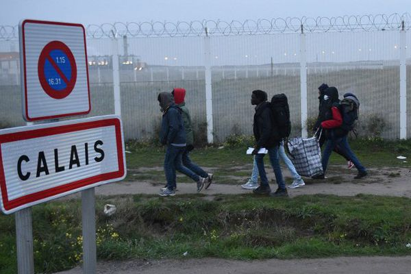 Calais, ce lundi matin.