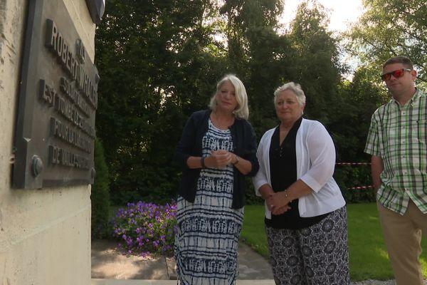 La famille du soldat américain Robert Whalen découvre enfin le monument qui lui est dédié à Vailly-sur-Aisne 77 ans après sa mort