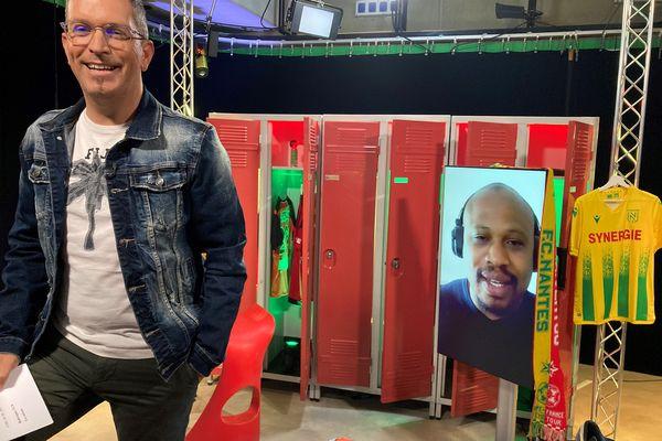 Fabrice Pancrate, ancien joueur du FC Nantes, invité de l'émission #USBFOOT et d'Anthony Brulez