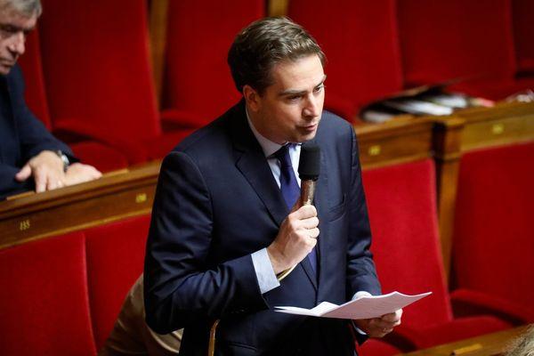 Olivier Becht, le député haut-rhinois, à l'Assemblée nationale