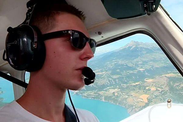 Hugo Chastel, licencié à Tallard, rêve de voler plus haut