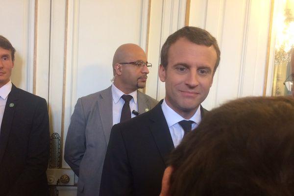 Le président à Orléans en juillet.