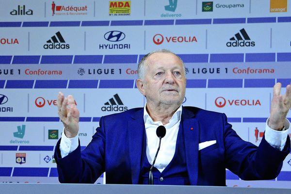 Jean-Michel Aulas ne fait pas que contester, il a également fait des propositions.