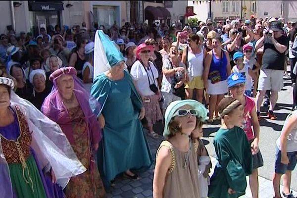 Orgelet fête ses 750 ans de franchise