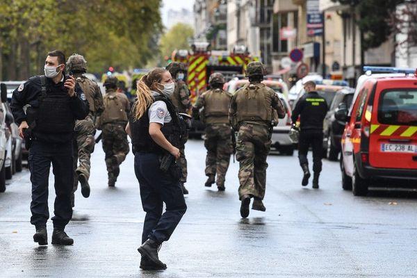 Deux personnes ont été blessées dans l'attaque rue Nicolas Appert dans le XIe arrondissement de Paris vendredi 25 septembre.