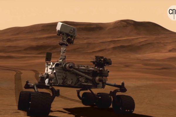 """""""Cette mission, c'est là la première étape du retour d'échantillons martiens"""" précise Erwin Dehouck, qui est pour sa part, enseignant-chercheur laboratoire de géologie à Lyon 1."""