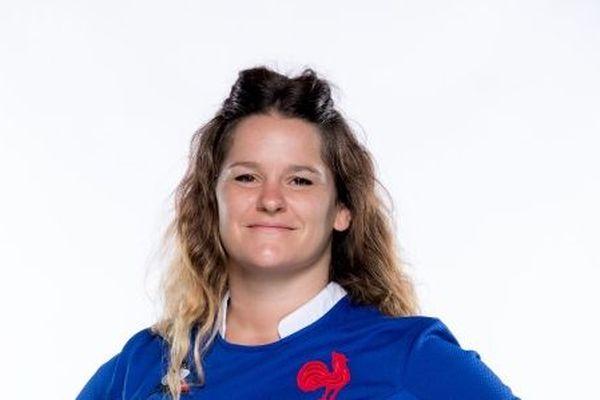 Lise Arricastre, joueuse du XV de France féminin.