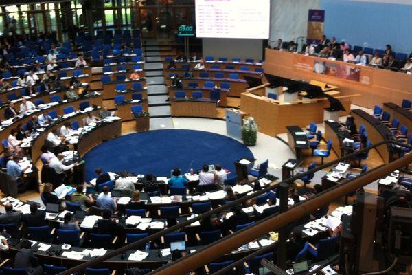 La 39e session du Comité mondial du patrimoine de l'UNESCO à Bonn en Allemagne.