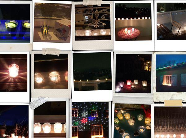 En cette année un peu particulière, les lumignons du 8 décembre ont retrouvé le traditionnel rebord de fenêtre.