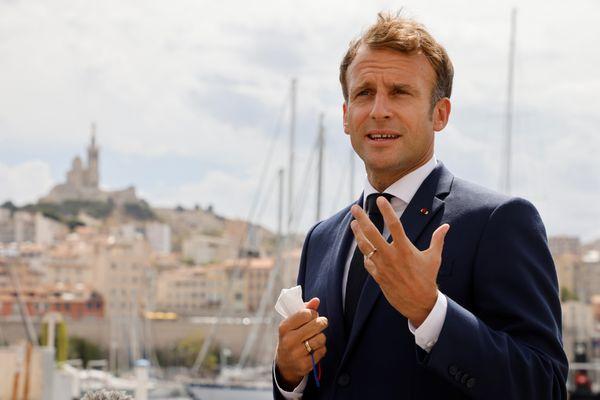 Le président de la République a annoncé des projets pour Marseille pour implanter le cinéma de façon durable.