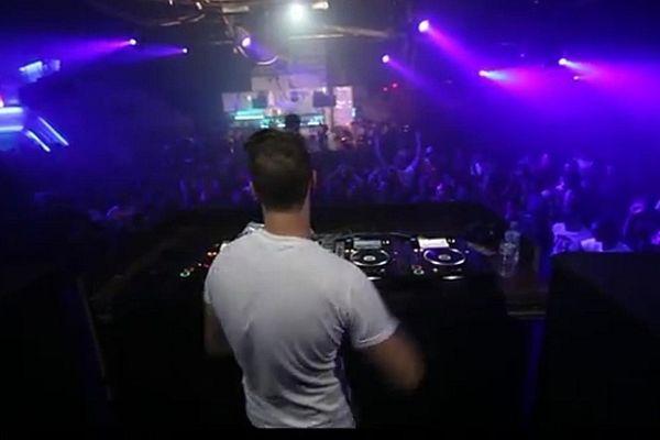 Le DJ Tony Roméra en 2012 à Lyon