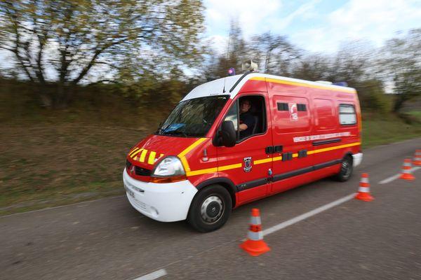 Une fuite de gaz a provoqué l'intervention des pompiers sur la N151 - Photo d'illustration