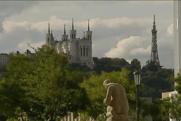 Une vue de Lyon le 02/09/2015