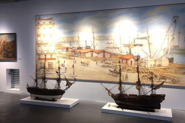Exposition de maquettes de voiliers au Musée Mer Marine de Mordeaux