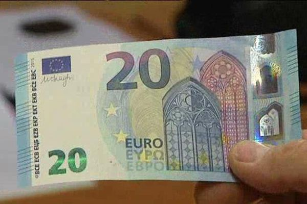 Le nouveau billet de 20 euros comporte des sécurités supplémentaires