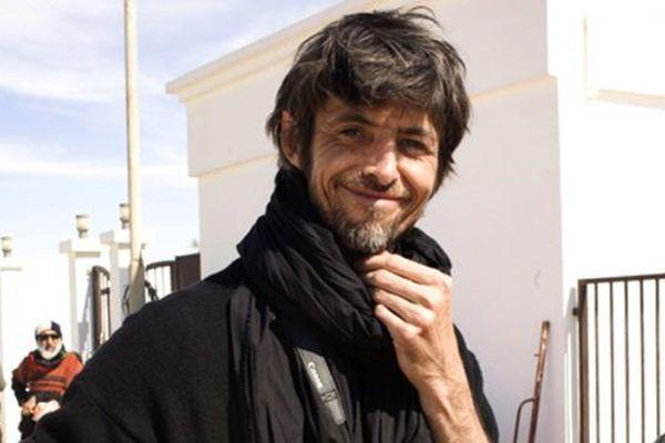 Le photoreporter David Sauveur, le 12 mars 2011