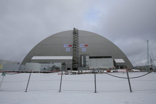 Le nouveau dôme de confinement de Tchernobyl