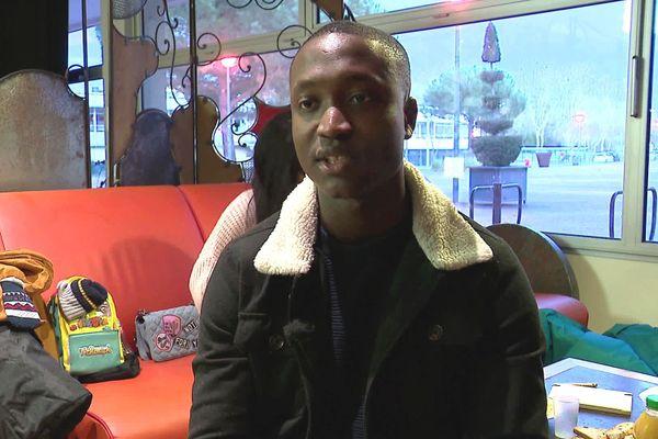 Haroun Kaba, étudiant en Licence de Droit à Poitiers.