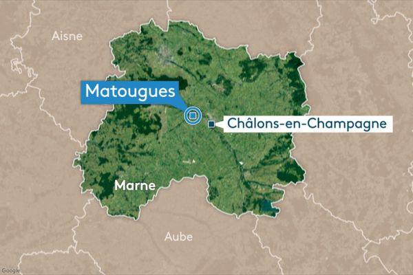 Le rassemblement festif a eu lieu à Matougues près de Châlons-en-Champagne dans la Marne.