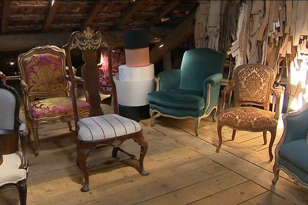 Les anciennes créations seront exposées au public lors des journées européennes des métiers d'art