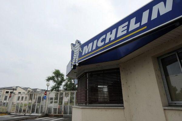 L'usine Michelin à Joué-lès-Tours (Indre-et-Loire) en 2013