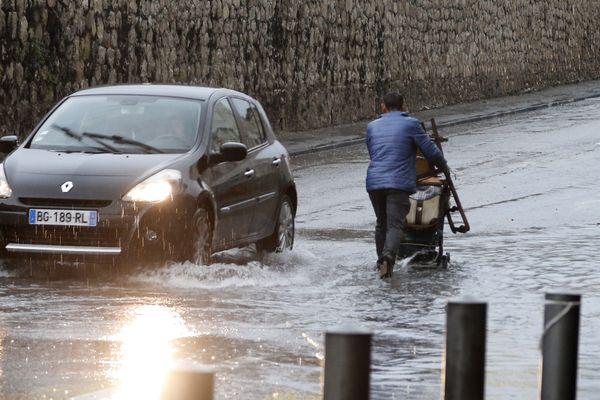 Béziers bat des records de pluie après avoir battu des records de sécheresse sur tout le début de l'année