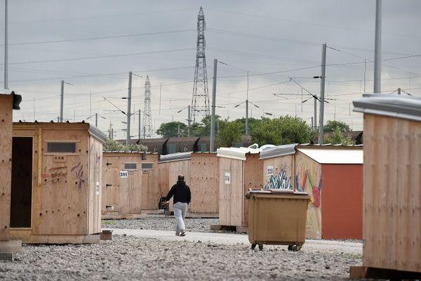 Le camp de migrants de La Linière à Grande-Synthe (archive).