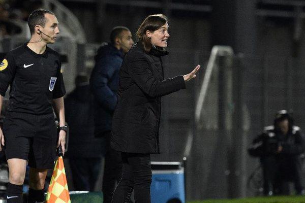"""""""C'est presque un devoir j'ai envie de dire que de prendre cette sélection aujourd'hui"""", a déclaré Corinne Diacre, à la tête de l'équipe de France féminine."""