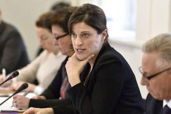 Juliette Méadel, la secrétaire d'Etat chargée de l'aide aux victimes