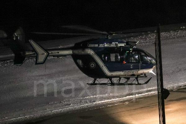 Il a fallu aller chercher le corps des victimes en hélicoptère, dans une zone inaccessible