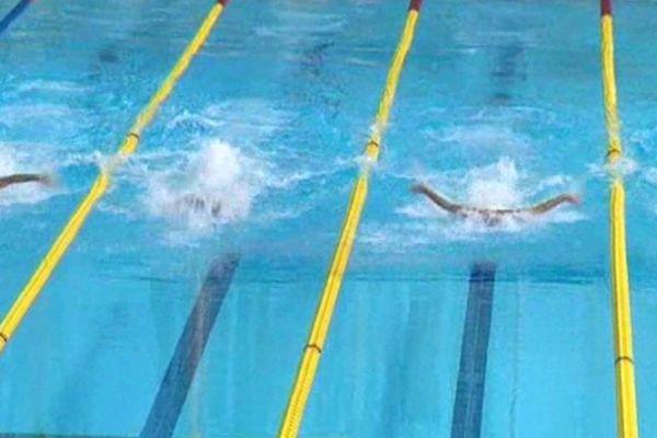 Montpellier - meeting national de natation à la piscine Antigone - 26 janvier 2013.