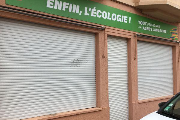 Les rideaux de la permanence d'Agnès Langevine pourrait rouvrir pour le second tour