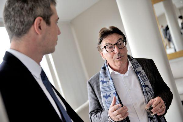 Michel Parmentier, directeur d'une vingtaine de McDonald's et ancien président de l'AJ Auxerre