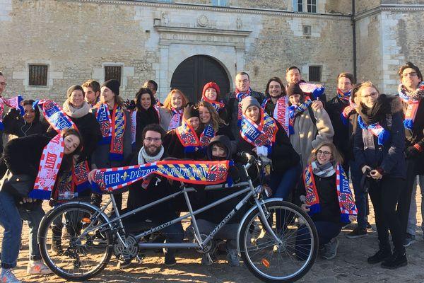 Les étudiants de la matrice patrimoine en immersion en Bourgogne pendant une semaine !