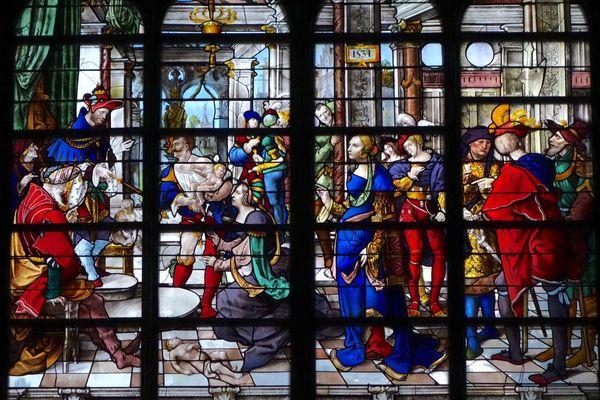 'La sagesse de Salomon', 1531 - église Saint-Gervais Saint-Protais – Paris IVe