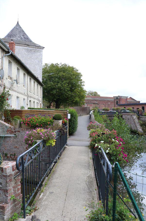 Vers la cité Magenta de Boubers-sur-Canche