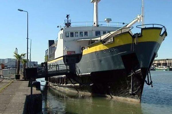 L'I Boat situé sur les Bassins à flots de Bordeaux