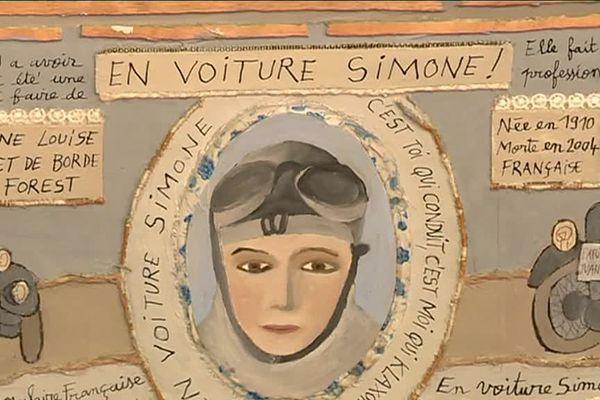 40 artistes sélectionnées pour l'expo Pluri'elles à Uzès célèbrent 400 femmes à travers les siècles. A. Goyon, J.Sanna, F. Beraud-Dufour
