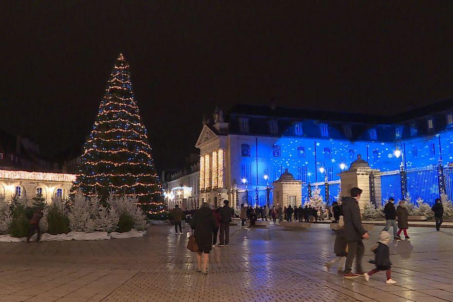 EN IMAGES. L'esprit de Noël illumine les rues de Dijon