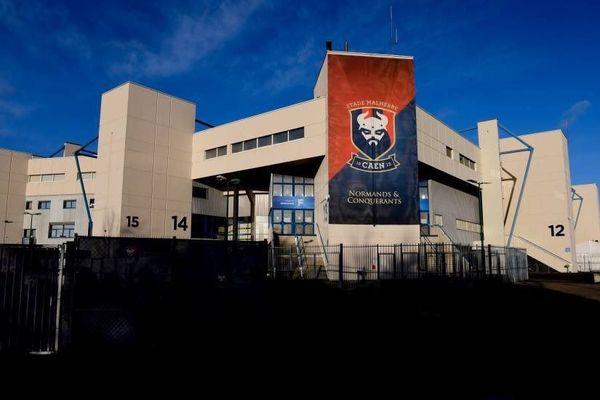 Le stade d'Ornano à Caen