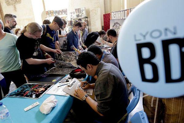 Archives - Le Lyon BD festival attire depuis 15 ans des foules d'amateurs pour rencontrer des pointures de la bande dessinée