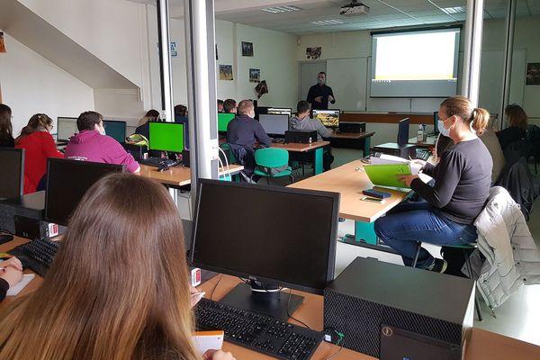 18 par classe maximum au lycée agricole de Saint-Chély-d'Apcher