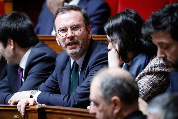 Benoit Potterie à l'Assemblée Nationale en avril 2018.