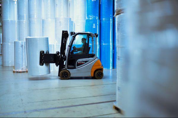 Illustration. Une unité de production de meltblown en Allemagne. Une entreprise de Montbéliard devrait commencer à en produire dans les prochains mois.