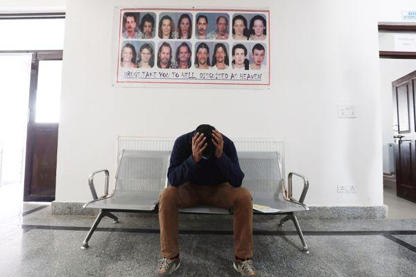 Un centre de réhabilitation pour les personnes addictives en Inde - Photo d'illustration