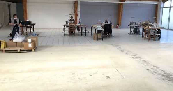 Les locaux de l'atelier occupé pour le moment par trois couturiers