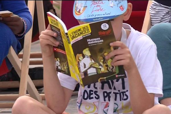 A Pantin, le festival Partir en livre se déroule jusqu'au 25 juillet
